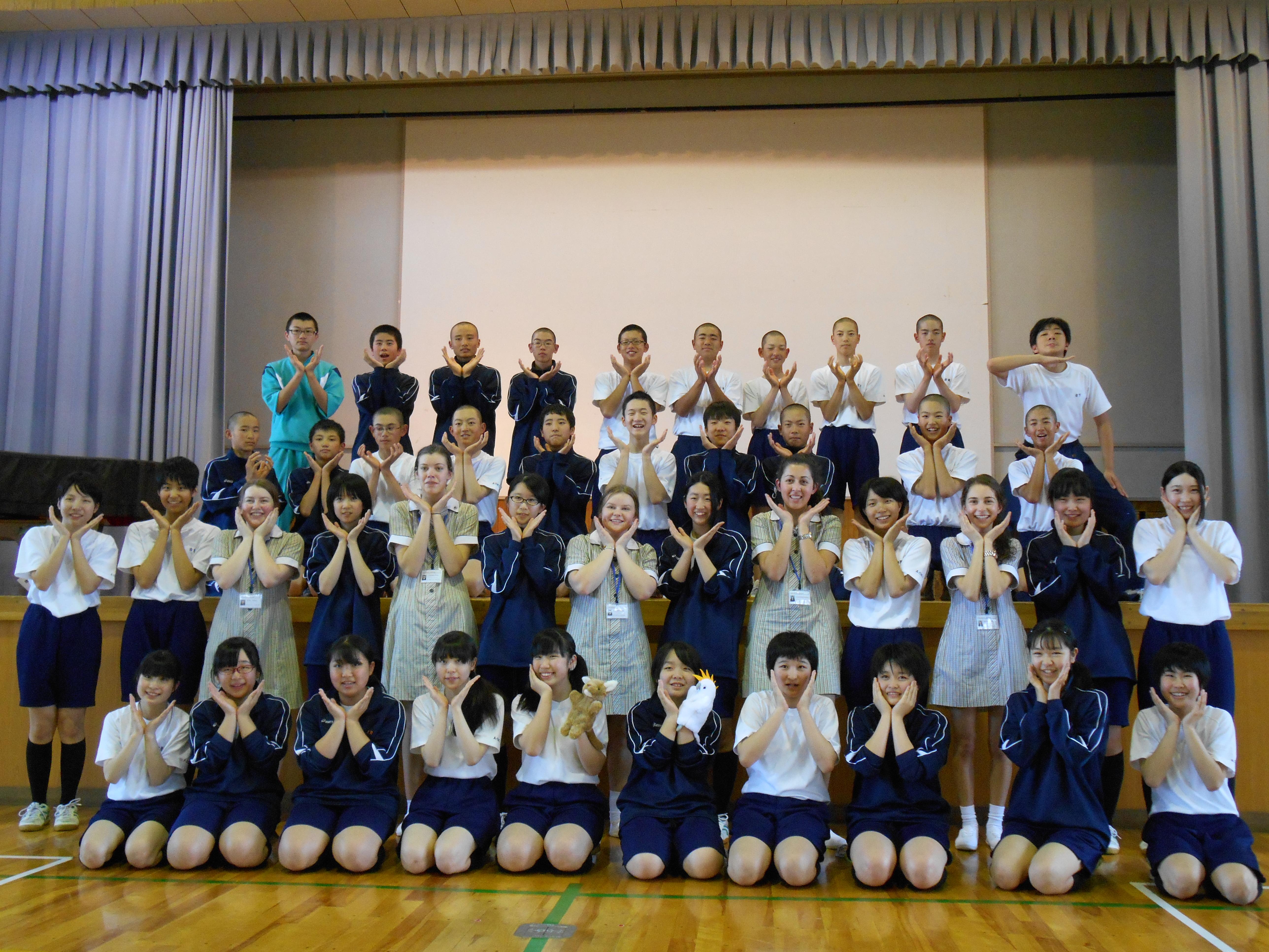 HOME   長野県 青木村立 青木中学校